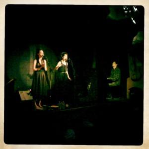 L to R: Nicole Eva Emery, Jesca Hoop, & Sasha