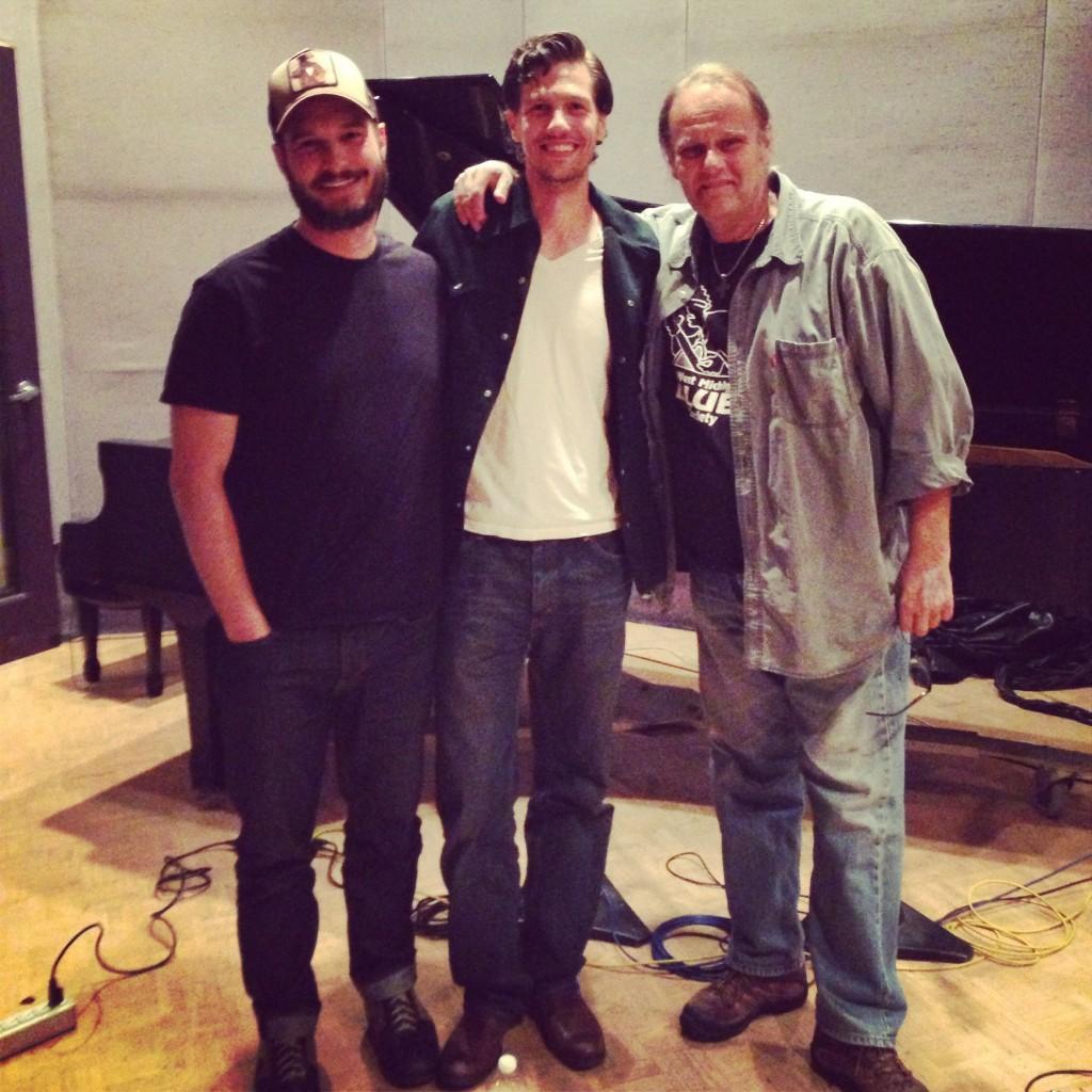 L to R: Eric Corne, Sasha Smith, Walter Trout